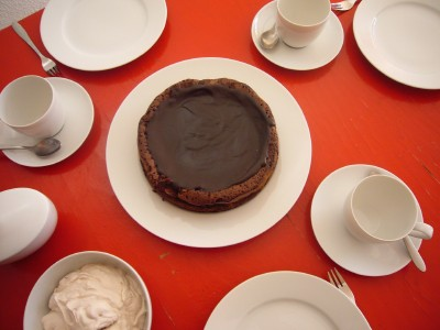 Schokoladenkuchen mit Portwein - Kochen für Schlampen
