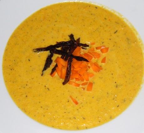 Möhren-Ingwer Suppe - Kochen für Schlampen