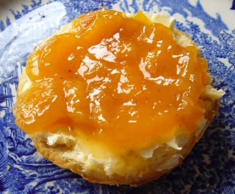 Pfirsichmarmelade - Kochen für Schlampen