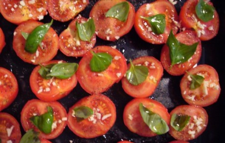 Tomaten vor demOfen