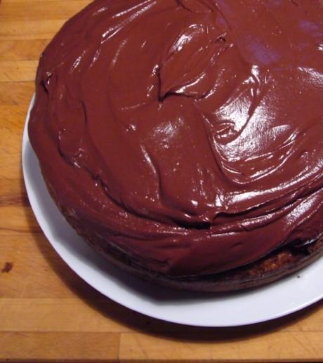 Banana Chocolate Cake