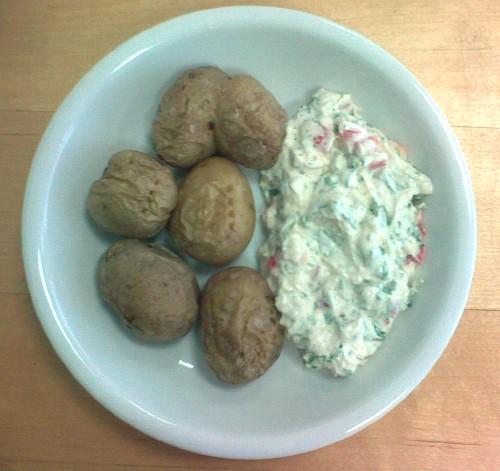 Mikrowellenkartoffeln