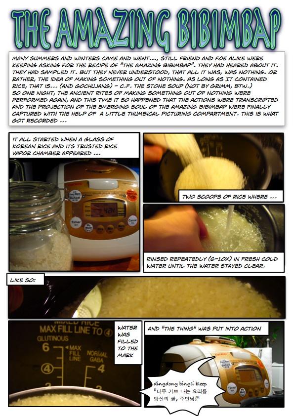 The Amazing Bibimbap page 1
