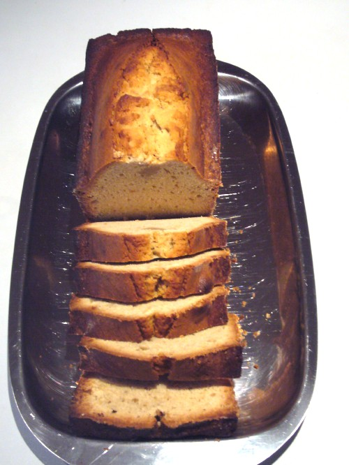 Kuchen aufschneiden