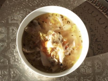 Hühnersuppe | Kochen für Schlampen