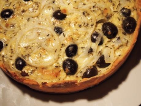 Oliven-Zwiebel-Quiche I Kochen für Schlampen