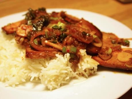 Tofu Bulgogi - Kochen für Schlampen
