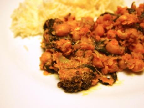 Veganes Gemüsecurry - Kochen für Schlampen