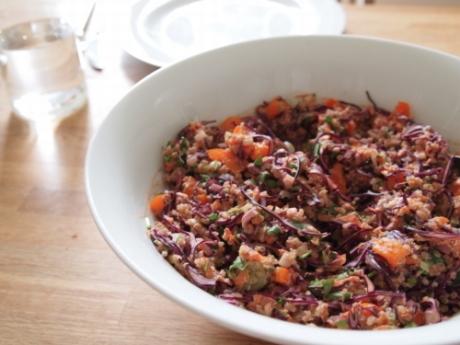 Thai Quinoa Salat - Kochen für Schlampen
