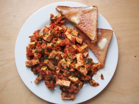 Tofufrühstück - Kochen für Schlampen