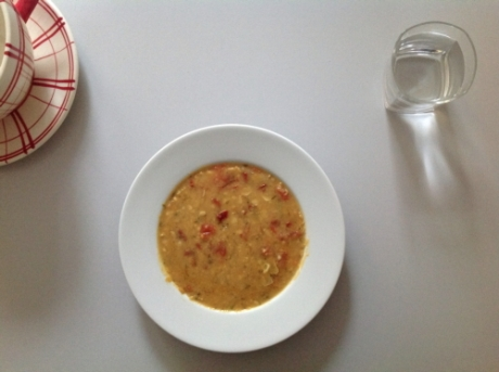Kichererbsensuppe - Kochen für Schlampen