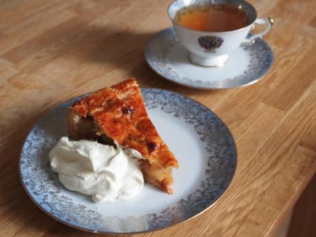 Gedeckter Apfelkuchen - Kochen für Schlampen