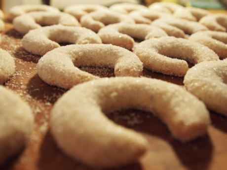 Vanillekipferl mit Tonkabohnen   Kochen für Schlampen
