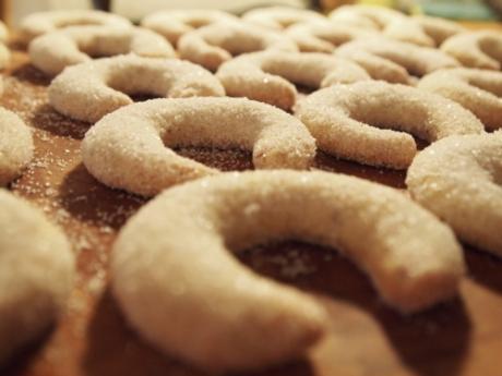 Vanillekipferl mit Tonkabohnen | Kochen für Schlampen