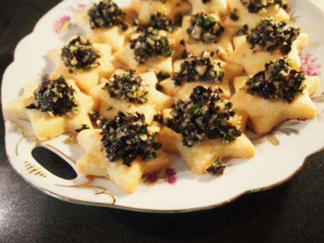 Käsekekse mit Oliven | Kochen für Schlampen