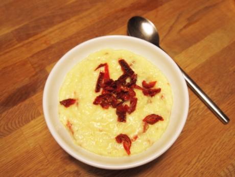 Cheesy tomato grits | Kochen für Schlampen