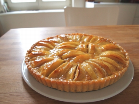 Birnenkuchen mit Crème fraîche | Kochen für Schlampen