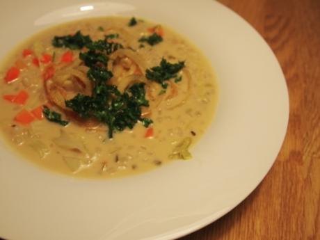 Graupenrahmsuppe | Kochen für Schlampen