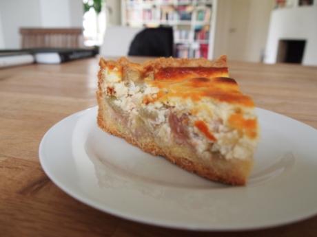 Rhabarber-Quarkkuchen | Kochen für Schlampen