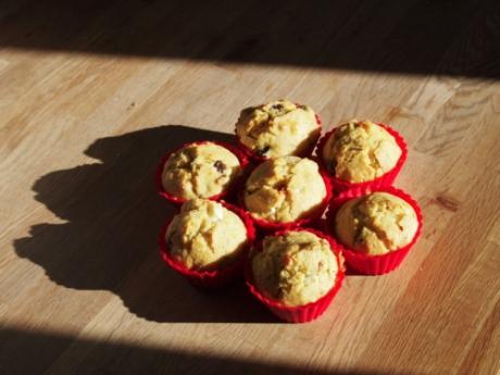 Rosmarinmuffins mit Feta und Olive   Kochen für Schlampen