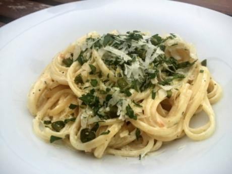 Mascarpone-Nudeln mit Grappa und Gremolata - Kochen für Schlampen