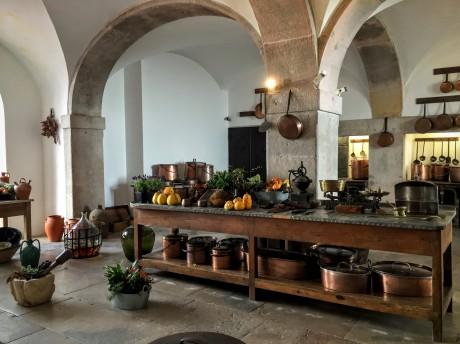 Küche im Neuschwanstein Portugals